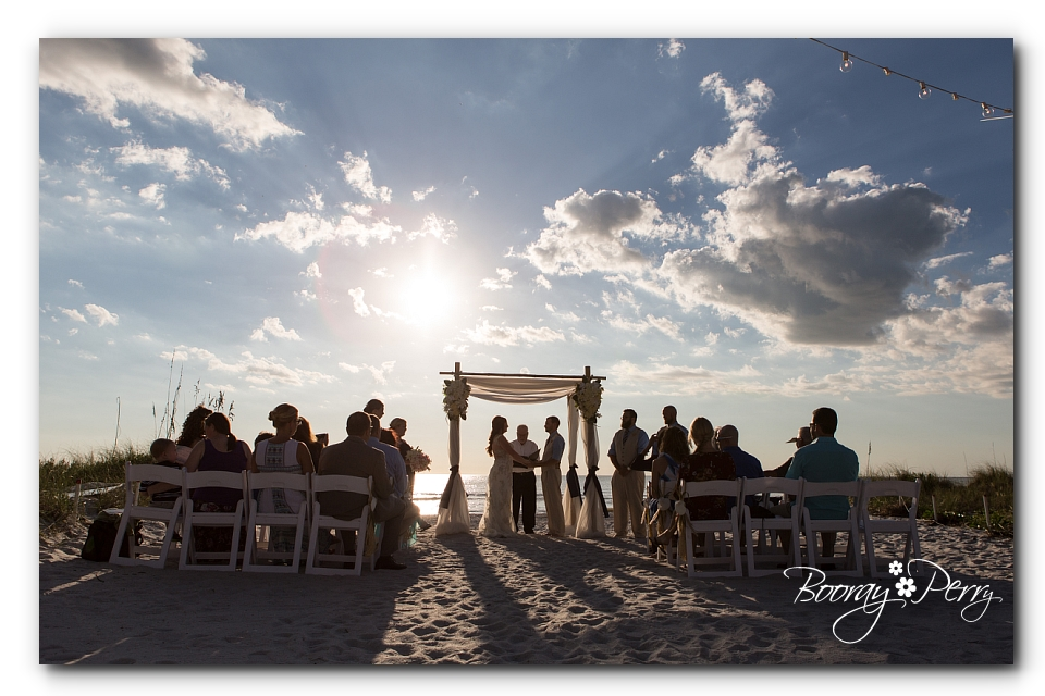 st petersburg beach wedding