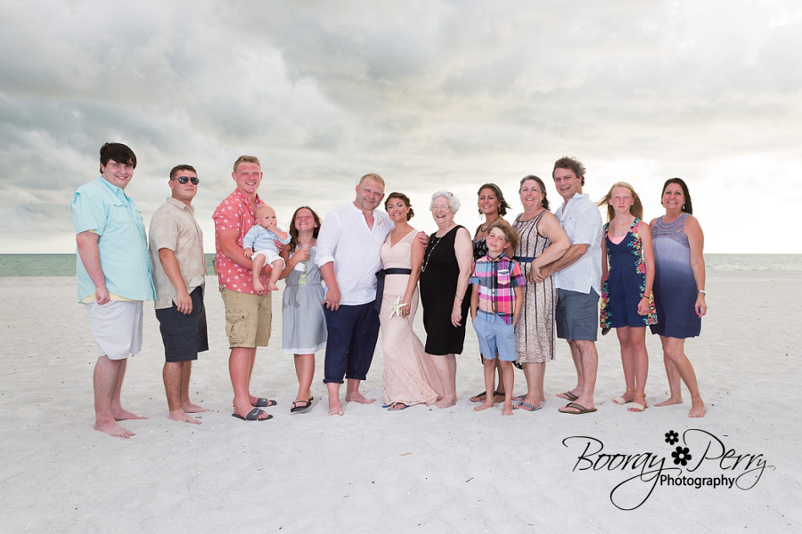 flash photography at beach weddings