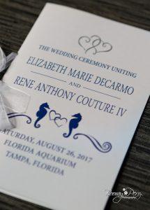 Wedding Tampa Aquarium