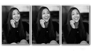 Black and white portraits tampa