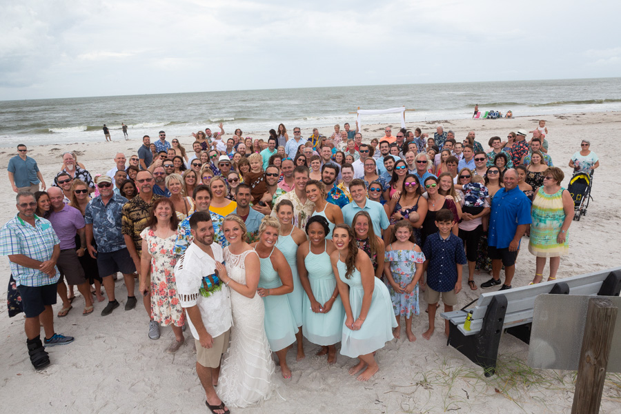 beach wedding clearwater