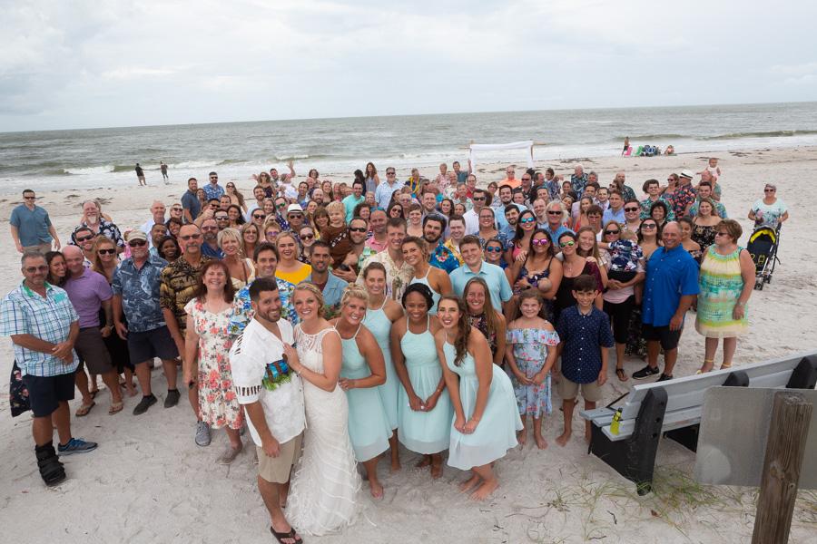beach wedding clearwater